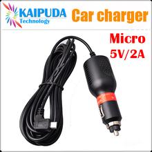 Car charger MICRO USB 5P 5V / 2A for Car DVR /Tablet PC /Mobile Phone /Action camera wifi/SJ4000/SJ5000/SJ6000/go pro camera(China (Mainland))