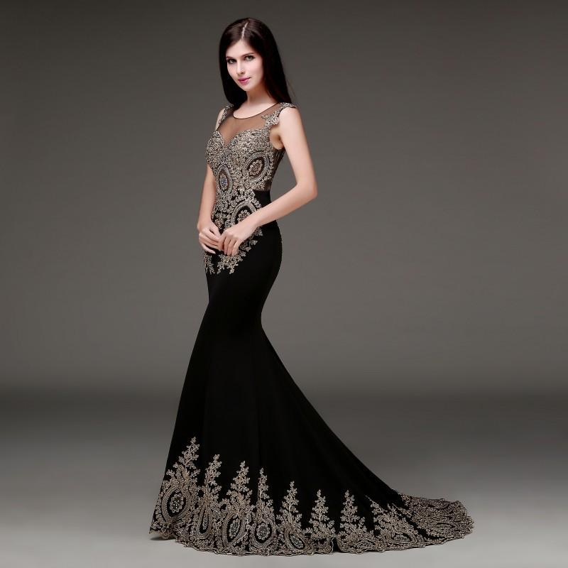 pour choisir une robe robe de soiree pour mariage noir. Black Bedroom Furniture Sets. Home Design Ideas