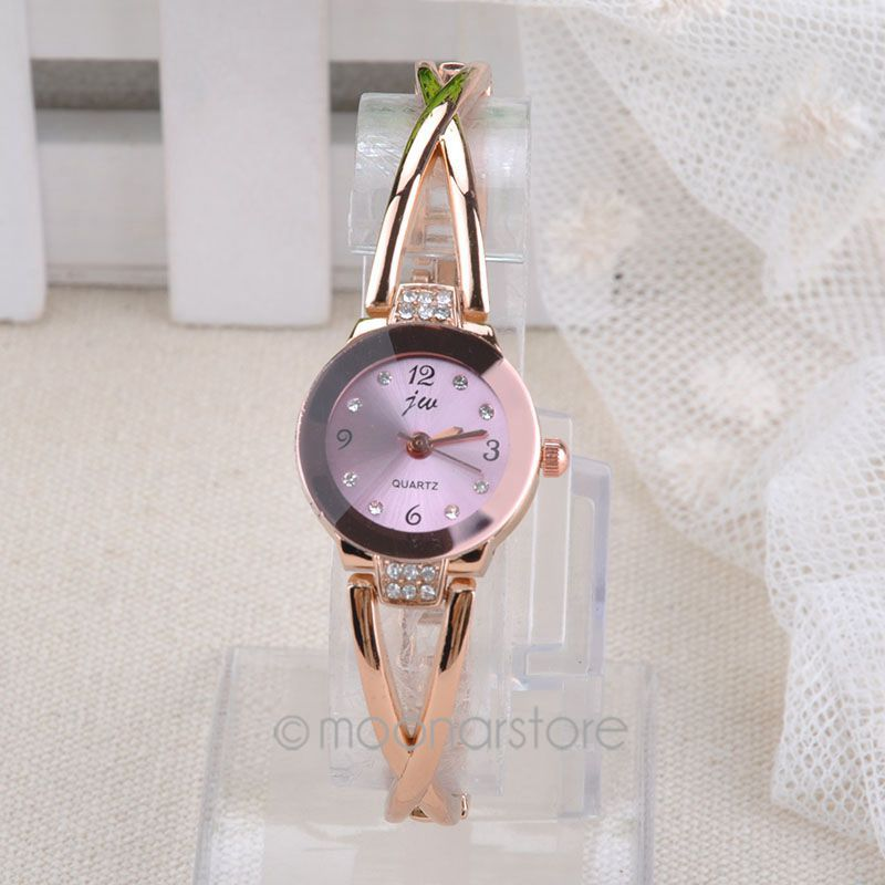 New Spring 2015 Fashion Women Watch Girls Royal Gold Dial Bracelet Quartz Stainless Steel Watches hot sale XH*MHM526*70(China (Mainland))
