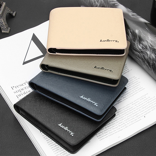 Men's Bifold Faux Leather Purse Credit Card Holder Slim Wallet Clutch Billfold 6B1Q(China (Mainland))