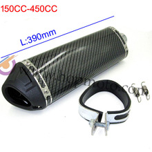 150cc-450cc Exhaust Muffler  with moved blow-down silencer /Mute  pit bike dirt bike motorcross pipe use(China (Mainland))