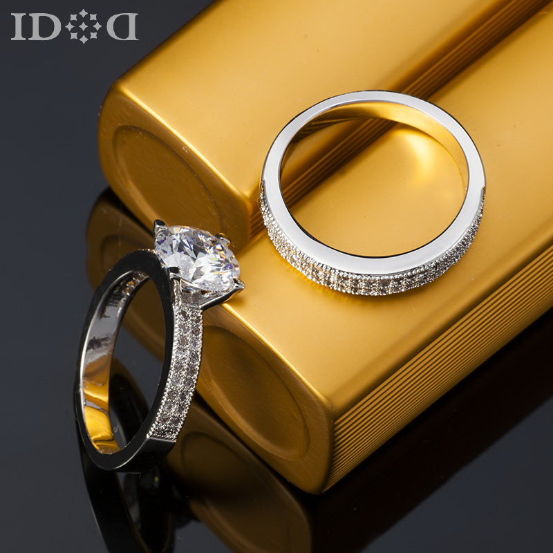 diamond rings engagement and wedding rings sets for