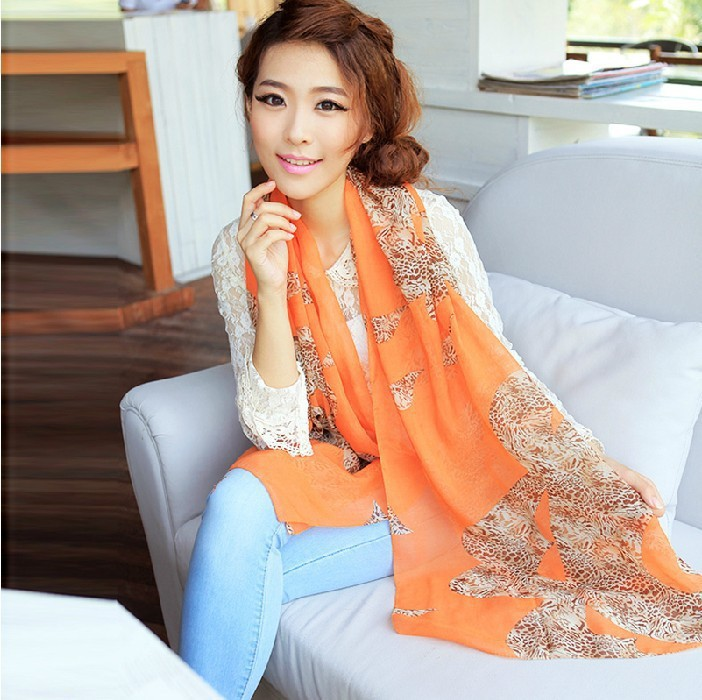 2014 best sale women's Chiffon scarves,Fashion scarves, women scarf , - Yiwu International Trade Store store