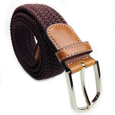 2015 high fashion mens belts luxury casual braided belt ...
