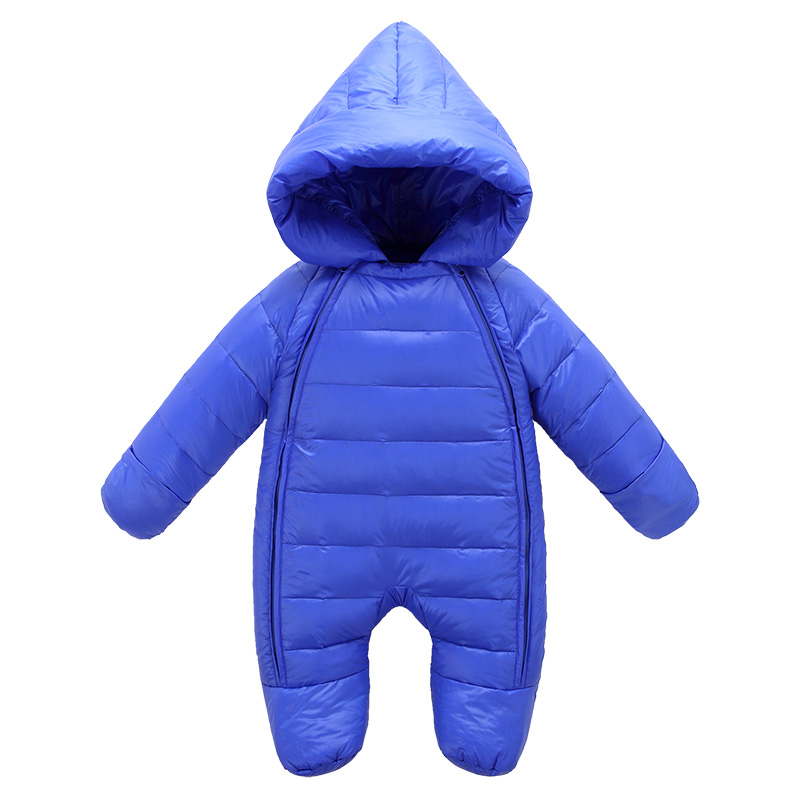 High quality 2016 Infant Newborn Winter Rompers Baby Girls