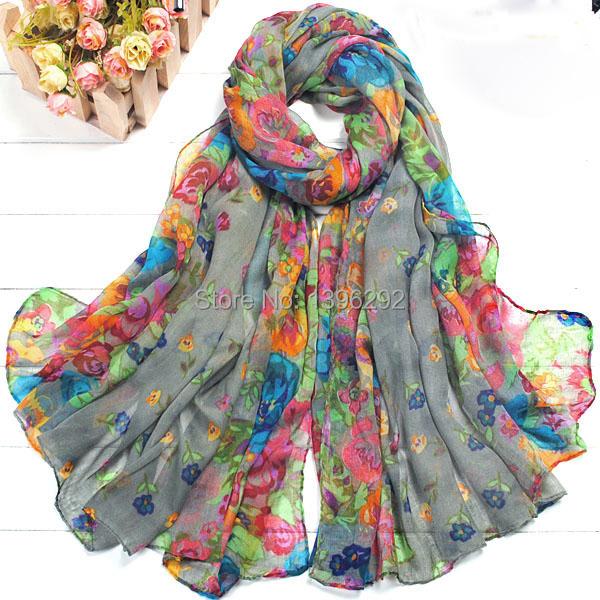 fashion chiffon silk scarf women necklace Wraps shawls and scarves winter desigual scarf female foulard femme women cape bufanda(China (Mainland))