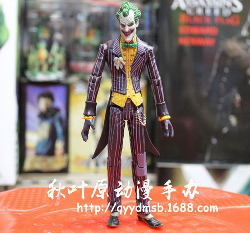 Batman Joker Roman Sionis PVC Action Figure Collectible Model Toy Children Kids Baby Adult Gift 7 inch 18CM Classic - Future Star Trading Co.,Ltd store