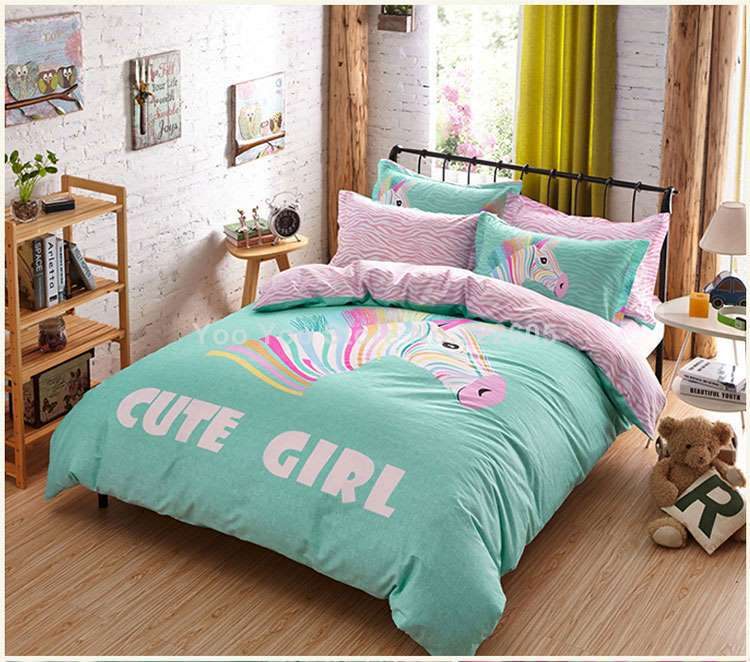 Teen bedding sets picture more detailed picture about good quailty teen bedding set bed sets - A nice bed and cover for teenage girls or room ...
