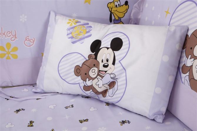 Здесь можно купить  100 Cotton 7pcs One Set Fashion Baby Bedding Set Exemption From Postage Designed For Baby Mom Trust Of Good Product  Детские товары