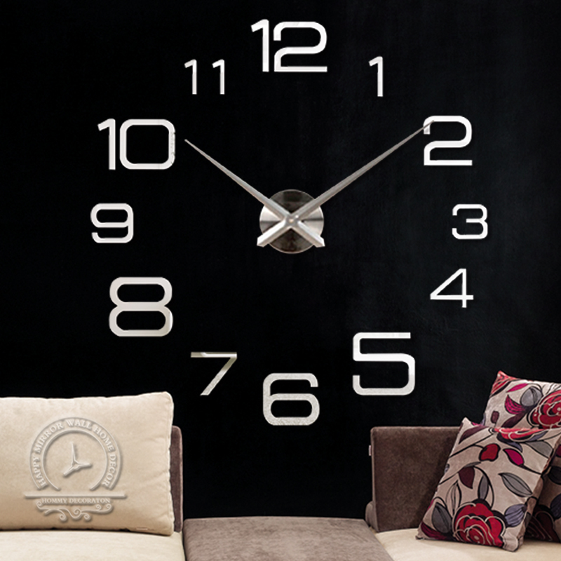 Home home Decor Big Digital Wall Clock Modern Design Large Decorative Designer Clocks Watch Hours Unique Gift - YIWU MINO HOMEDCOR store