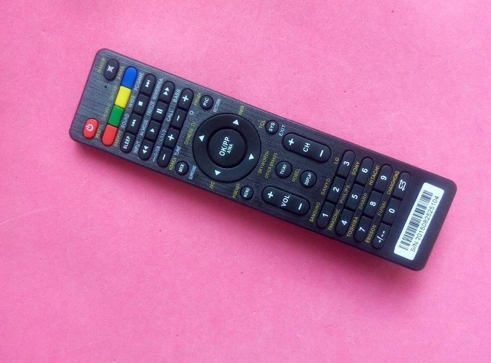 Universal remote control for DAEWOO KONKA PRIMA CHINESETV JVC LCD Television(China (Mainland))