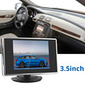 3 5 Inch Pocket sized TFT LCD Color Car Rear View Monitor Auto Parking Rearview Reverse