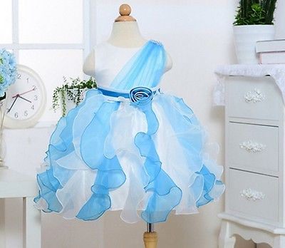 2015 New 2-7Y Girl Party Wedding Evening Sleeveles Princess Dresses Kid Pageant <font><b>Frocks</b></font> First Communion Bridesmaid Ball Gown Tutu