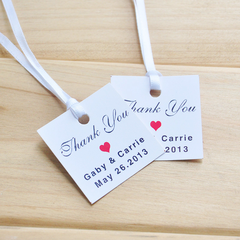 Favor Tag Printable, Text Editable Thank You Tag, Wedding Tags, set of 100 Rustic Chic(China (Mainland))