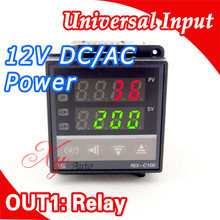 Buy Power 12V DC AC Digital Intelligent PID Temperature Controller Regulator Thermostat Thermocouple K/J sensor Input Relay Output for $15.36 in AliExpress store
