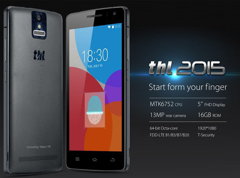 THL 2015 MTK6752L 64bit Octa Core Android 4 4 4G LTE SmartPhone 13MP 2GB RAM 16GB