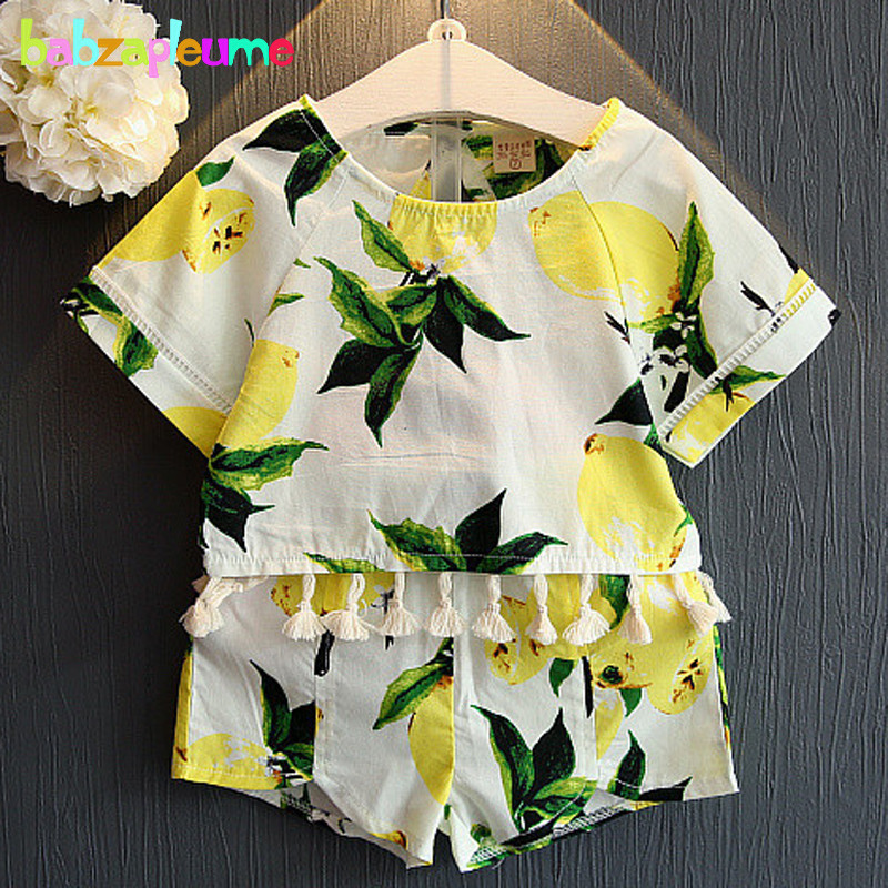 2PCS/0-7Years/Summer Style Koean Baby Girls Clothing Sets Short Sleeve T-shirt+Shorts Kids Costume Children Clothes Suits BC1220(China (Mainland))