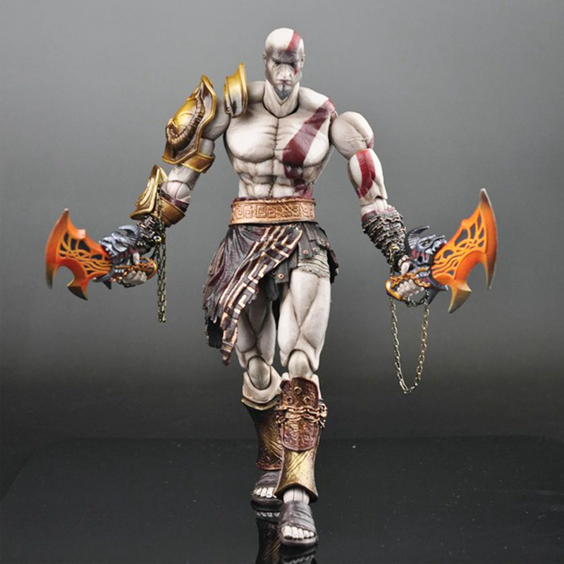 26CM God of War Kratos Ghost of Sparta Action Figure Play Arts Kratos Doll PVC ACGN figure Toy Brinquedos Anime