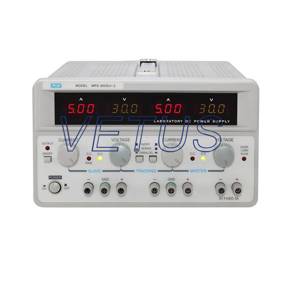 MPS-3005LK-3 ( 0-5A*2 3A*1 ) The output off standard multi-channel analog power(China (Mainland))