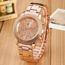 3 Colors Fashion Casual Watch Geneva Unisex Quartz watch women Analog wristwatches AW-SB-1530