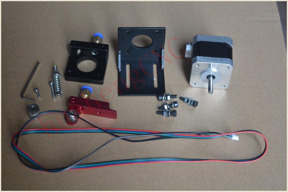 HH 1set 3d MK8 MK8 extruder aluminum block 3d printer accessories 3d mk8 diy makerbot mk8 extruder aluminum block diy kit