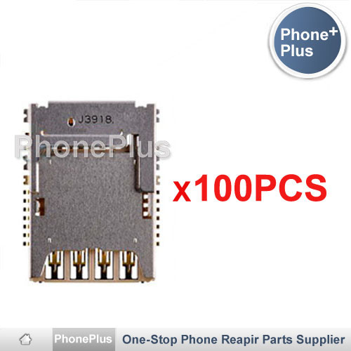 100PCS SIM Micro SD Memory TF Card Tray Reader Slot Holder Socket Free Shipping For LG G3 D850 D851 D855 D857 D858 D859