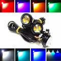 Dual Color Led Bulbs Turning Singals and Daytime Running Lights White Amber Yellow Car Styling DRL