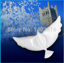 Pigeon Dove balloon for lover helium pigeon baloon eco-friendly foil baloes for flying thanksgiving parties 50pcs/lot(China (Mainland))
