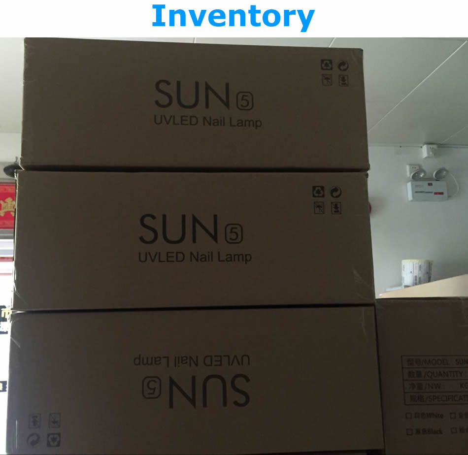 SUNUV SUN5 36W Professional UV LED Lamp Nail Dryer Polish Machine for Curing Nail Gel Art Tool