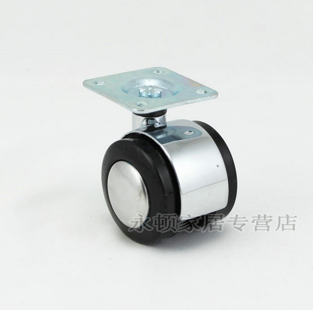 """WITHOUT BRAKE 1.5"""" Chair PARTS Muffler  CASTERS WHEELS  5pcs SET Perfect for Sofa/Furniture/Office Desk"""