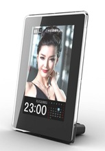 New Fashion 6 inch Vertical HD Digital Photo Frame with Clock & Calendar function, MP3, Light Sensor, Gift, Free Shipment