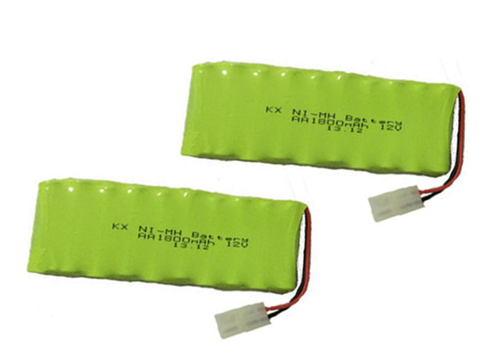 2X New Origina AA Ni-MH 12V 1800mAh Ni MH Rechargeable Battery Pack With Plugs Free Shipping(China (Mainland))