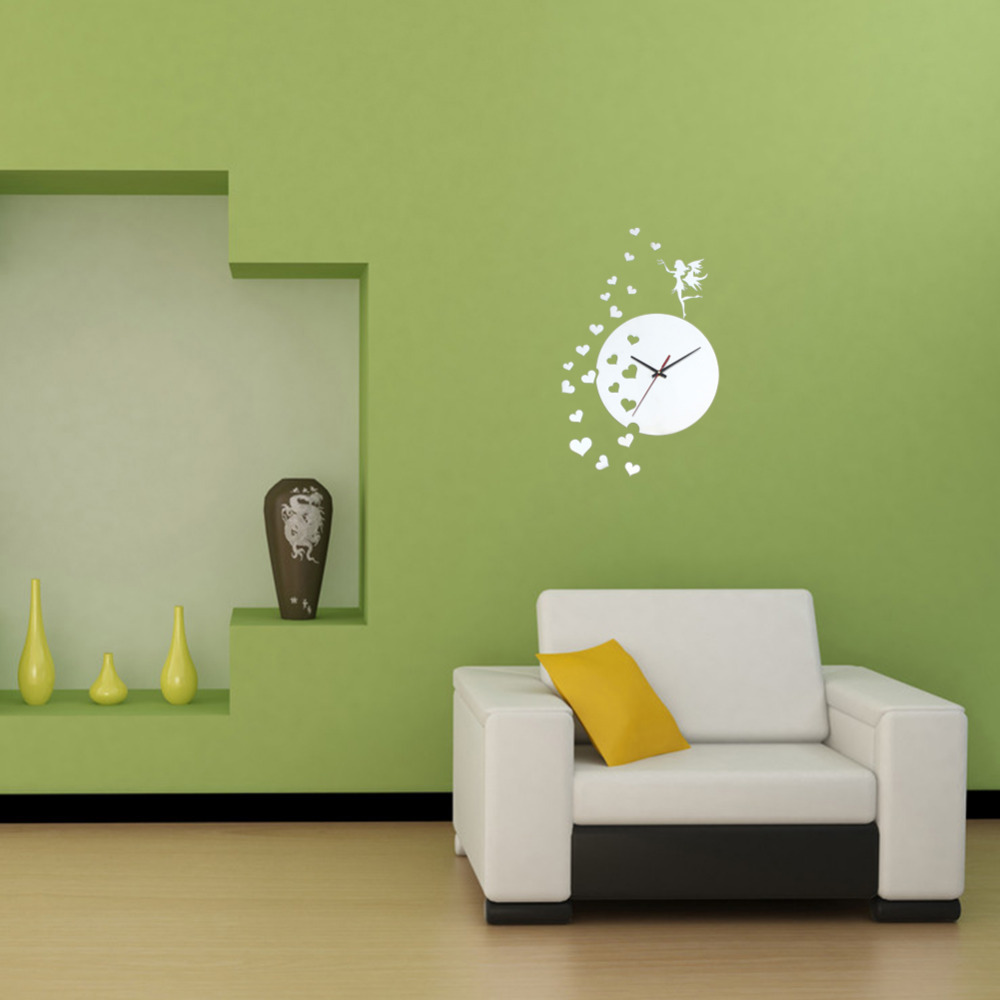 new free shippinghigh quality 3d acrylic mirror wall