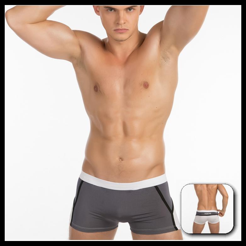 New Arrival JQK Brand Men Fashion Underwear Boxer Shorts Sexy Mens Underwear Man Backless Novelty Panty(China (Mainland))