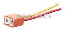 100 шт. 16AWG 14.5 см медный кабель керамическая автомобиль с держателем H7 лампа, авто H7 патрон лампы, автомобиль разъем H7