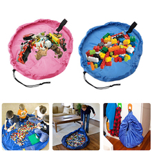 New arrival Pink / blue fast pouch baby toys TOY STORAGE BAG home storage organizer outdoor play mat(China (Mainland))