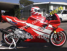 Buy Hot Sales,Pre-drilled Red white fairings for HONDA CBR600F2 91-94 CBR600 1991 1992 1993 1994 F2 ABS bodywork & windscreen for $378.10 in AliExpress store