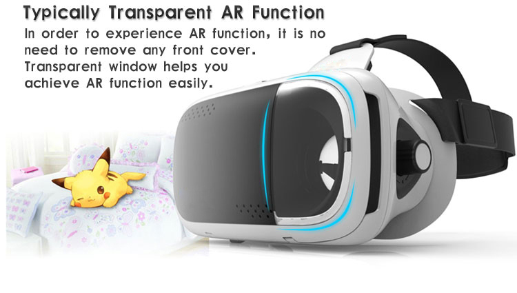 RITECH VMAX Virtual Reality Glasses Immersive 3D VR Glasses Helmet VR Box Large Field of View Free Shipping 12003360