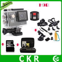 Original HD 4K WIFI Sport Action Camera EKEN H9R 2.4G Remote Control Waterproof Cam Camcorder+32GB+Bag+Go Pro accessory