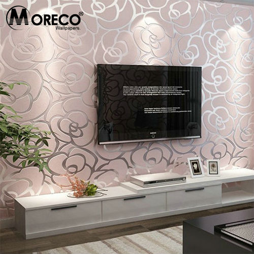 Buy Moreco Simple Abstract Floral Pattern Modern Style Wallpaper Home Decor For