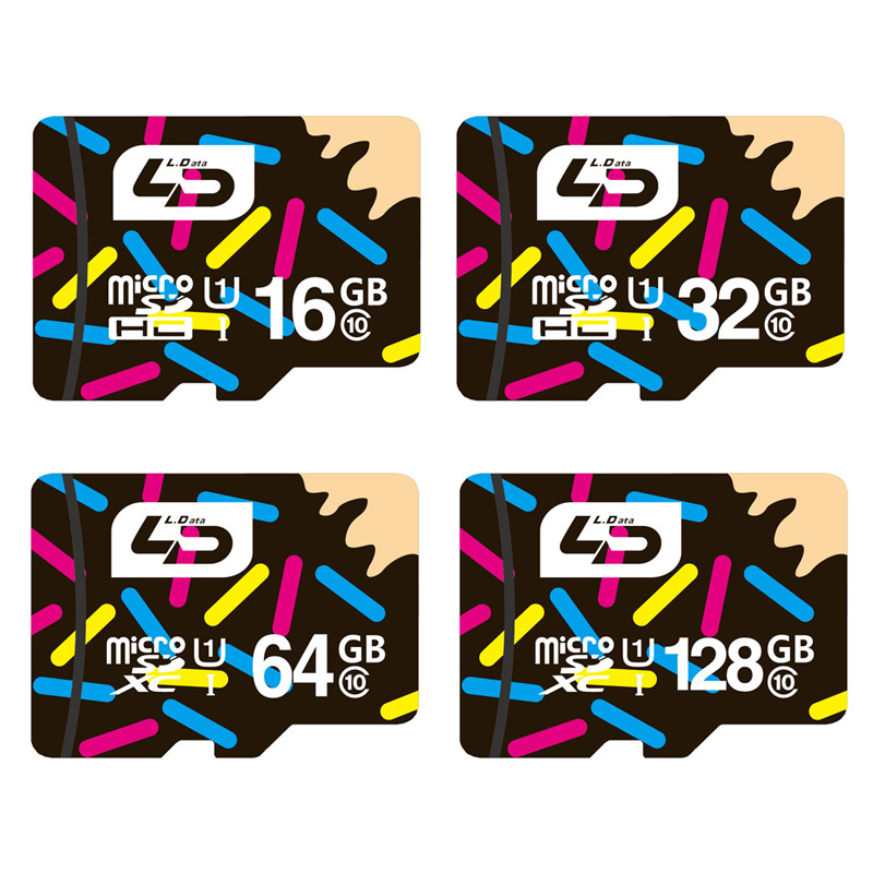 LD Micro SD Card 32GB Class 10 16GB/64GB/128GB Class10 UHS-1 4GB/8GB Class 6 Memory Card Flash Memory Microsd for Smartphone(China (Mainland))