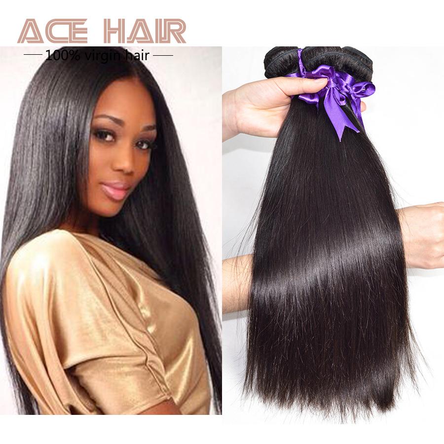 POP hair grade 5A eurasian virgin hair straight 1 bundle 12