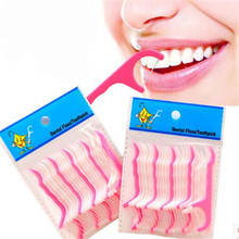 Hot 25pcs High Quality Toothpicks Oral Gum Teeth Clean Tools Care Thread Dental Plastic Tooth Picks CC2591(China (Mainland))