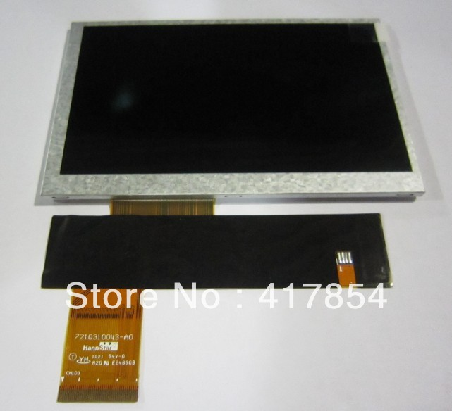 free shipping 5inch GPS\UMPC TFT LCD module HSD050IDW1-A30 800*480 resolution(China (Mainland))