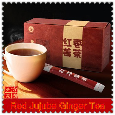 15Small Bag 180g High class Green Chinese Coffee Instant Jujube Ginger Tea Coffee With Ginger Tea