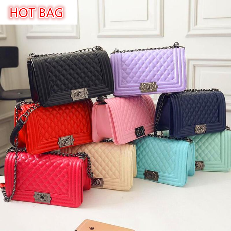 Women Bag 2016 Luxury Brand Woman Small Bag Chain Shoulder Crossbody Bags For Women Messenger Bags Channels bolsa feminina CH1-1(China (Mainland))