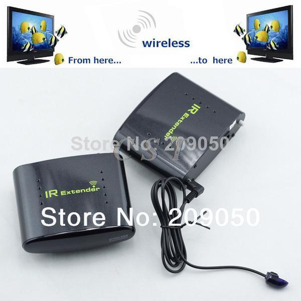 PAT-433 Wireless IR Remote Extender Infrared Repeater Transmitter Receiver Set for DVR IPTV Satellite STB Digital TV STB Camera(China (Mainland))