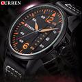 Newest reloj hombre CURREN quartz watch relogios masculinos de luxo marcas famosas Business Watch Leather Strap