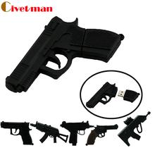pen drive gun usb flash drive 4GB 8GB 16GB 32GB 64GB usb drive handgun thumb drive usb 2.0 cartoon ak47 pistol pendrives(China (Mainland))