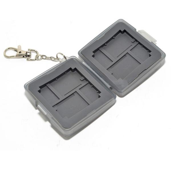 Memory Card Case for CF XD Micro SD Cards Flash Memory Box(China (Mainland))